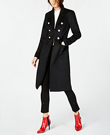 I.N.C. Military Maxi Coat, Created for Macy's