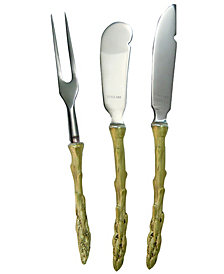 Michael Michaud Asparagus 3 Piece Hostess Set