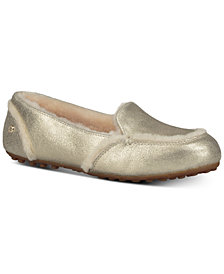 UGG® Women's Hailey Metallic Slippers