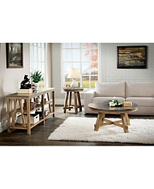 Breslin Bluestone Table Furniture Collection