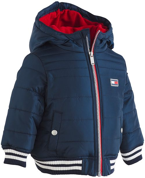 e99e395276 Tommy Hilfiger Baby Boys Bailey Puffer Jacket   Reviews - Coats ...