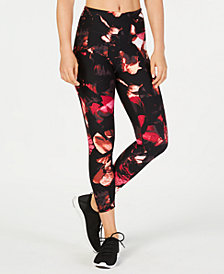 Calvin Klein Performance Night Flora Printed High-Rise Leggings