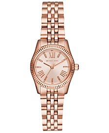 Women's Lexington Rose Gold-Tone Stainless Steel Bracelet Watch 26mm