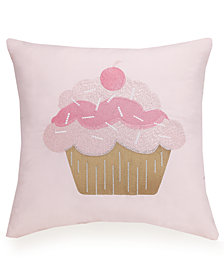 Urban Playground Cupcake Decorative Pillow