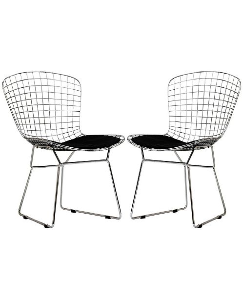 Modway CAD Dining Chairs Set of 2