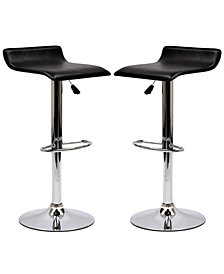 Modway Gloria Bar Stool Set of 2