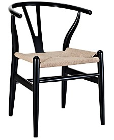 Modway Amish Dining Wood Armchair