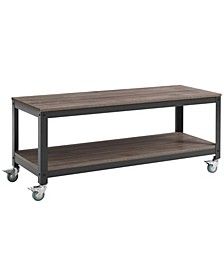 Vivify Tiered Serving or TV Stand Walnut
