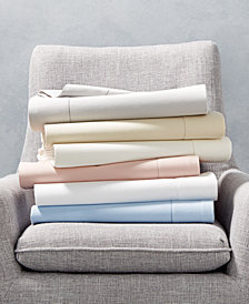 CLOSEOUT! Martha Stewart Collection Luxury Flannel Sheet Set Collection, Created for Macy's