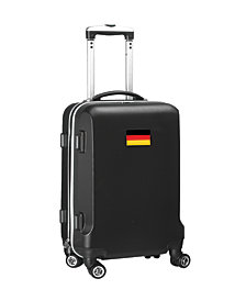 """21"""" Carry-On 100% ABS Hardcase Spinner Luggage - Germany Flag"""