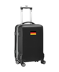 "Mojo Licensing 21"" Carry-On Hardcase Spinner Luggage - Germany Flag"