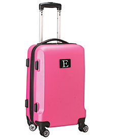 Luggage Carry-On 21-Inch Hardcase Spinner 100% ABS With Letter E