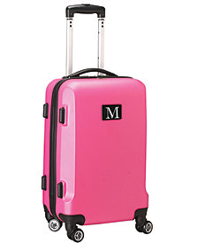 "21"" Carry-On Hardcase Spinner Luggage - 100% ABS With Letter M"