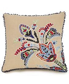 "Vera Bradley Romantic 16"" Paisley Pillow"