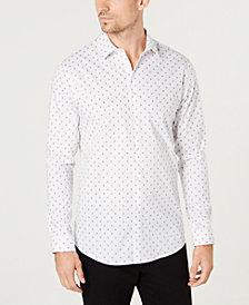 I.N.C. Men's Slim-Fit Mini-Skull Shirt, Created for Macy's