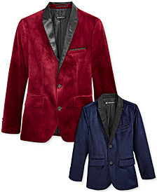 I.N.C. Daddy and Me Matching Velvet Blazers, Created for Macy's