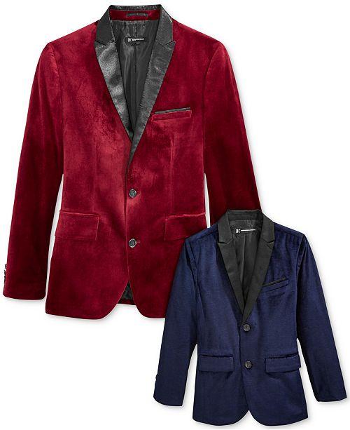 b9a0425a42db INC International Concepts I.N.C. Daddy and Me Matching Velvet Blazers