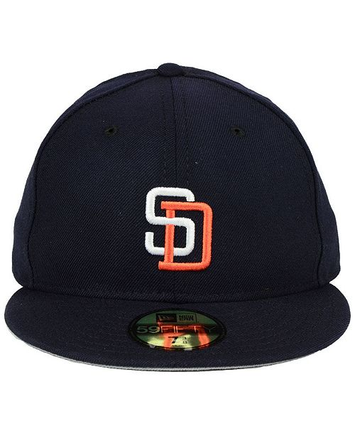 low cost 9922c 1393c ... cheap new era san diego padres retro classic 59fifty fitted cap sports  fan shop by lids