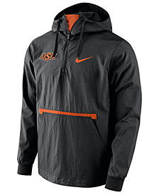 Nike Men's Oklahoma State Cowboys Packable Woven Jacket