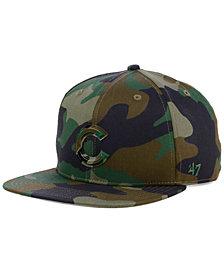'47 Brand Chicago Cubs Camo Snapback Cap