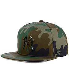 '47 Brand New York Yankees Camo Snapback Cap