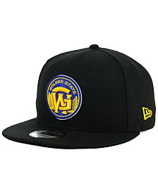 New Era Golden State Warriors Combo Logo 9FIFTY Snapback Cap