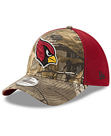 New Era Arizona Cardinals Realtree Camo Team Color Neo 39THIRTY Cap