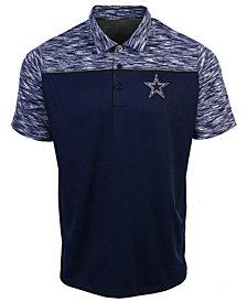 Authentic NFL Apparel Men's Dallas Cowboys Final Play Polo