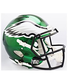 Riddell Philadelphia Eagles Speed Chrome Alt Authentic Helmet