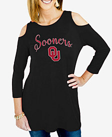 Gameday Couture Women's Oklahoma Sooners Cold Shoulder Tunic