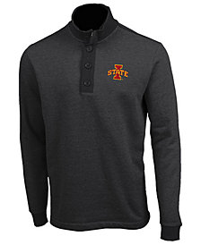 Antigua Men's Iowa State Cyclones Pivotal Quarter-Button Pullover