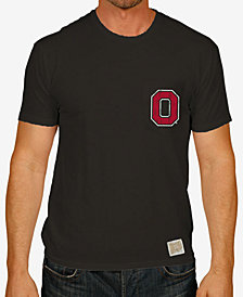 Retro Brand Men's Ohio State Buckeyes Logo Pocket T-Shirt