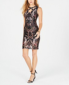 Cutout Lace Bodycon Dress, Created for Macy's