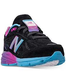 New Balance Girls' 990 V4 Running Sneakers from Finish Line