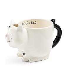 Tri-Coastal Design Cat Tea Bag  Mug
