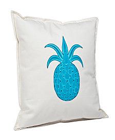 Pineapple Cotton Canvas Pillow