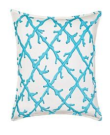 Lattice Cotton Canvas Pillow