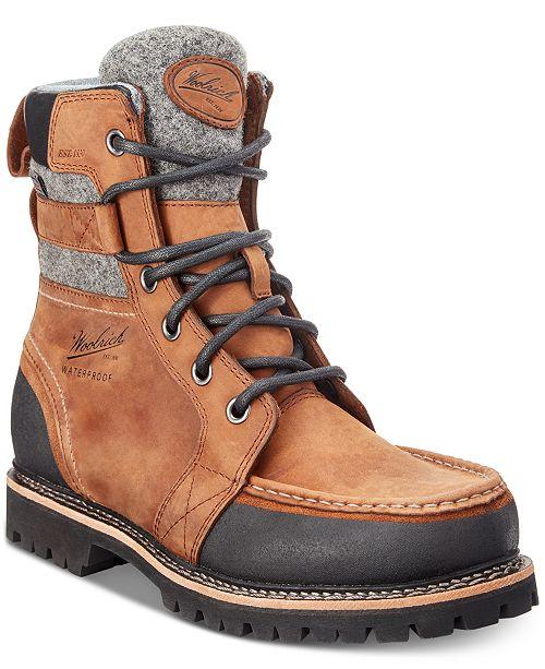 Woolrich Men's Stache Waterproof Leather Boots