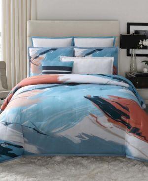 Vince Camuto Capri King 3 Piece Duvet Set in Blush Bedding 7063883