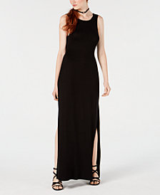 Material Girl Juniors' Twist-Back Maxi Dress, Created for Macy's