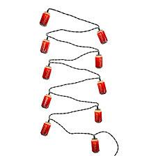 Kurt Adler 10 Light Coca Cola Can Light Set