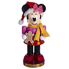Kurt Adler 10 Inch Minnie Mouse Nutcracker