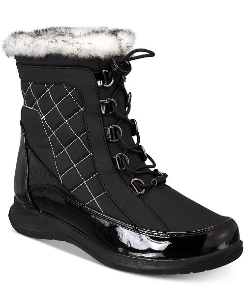 c63db701976e Sporto Jenny Water-Resistant Boots   Reviews - Boots - Shoes - Macy s