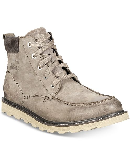 306623ee7 Sorel Men's Madson Waterproof Moc-Toe Boots & Reviews - All Men's ...