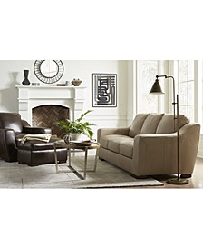 CLOSEOUT! Gansey Leather Sofa Collection