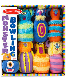 Melissa & Doug Monster Plush 6-Pin Bowling Game