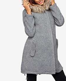 A Pea in the Pod Maternity Zip-Front Coat