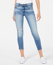 67b4d01f78f21 STS Blue Cara Cropped Straight-Leg Jeans   Reviews - Jeans - Juniors ...