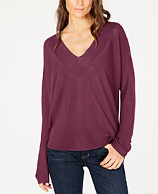 Eileen Fisher Tencel® V-Neck Sweater, Regular & Petite