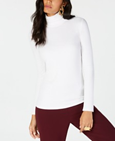 I.N.C. Ribbed-Knit Turtleneck, Created for Macy's